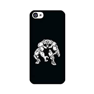 Skintice Designer Back Cover with direct 3D sublimation printing for Apple iPhone 4