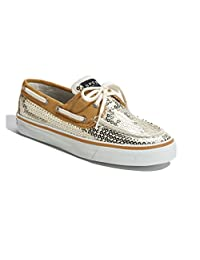 Sperry Top-Sider Women's Gold Sequins Bahama Boat Shoe