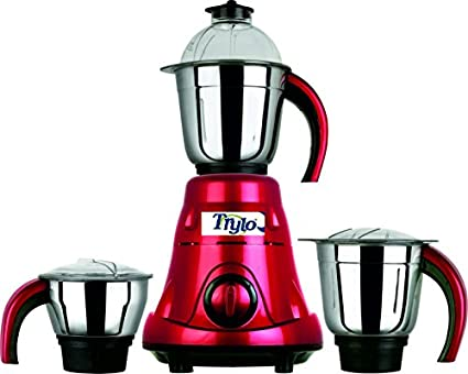 Trylo-Red-Rose-550W-Mixer-Grinder