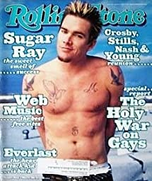 Sugar Ray Issue #808 Rolling Stone Magazine, March 18, 1999
