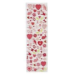 Martha Stewart Crafts Valentine Foam Icon Stickers