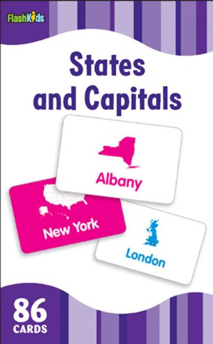 States and Capitals Flash Cards (Flash Kids Flash Cards)