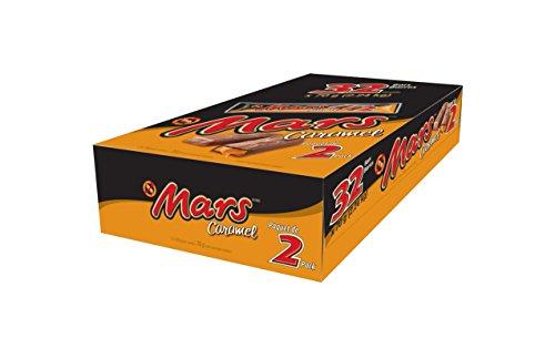 Mars Caramel 2-piece King Size Chocolate 70g, 32-Count