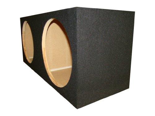 """Zenclosures 2-10"""" Jl Audio 10W6V3-D4 10W6 Subwoofer Box"""