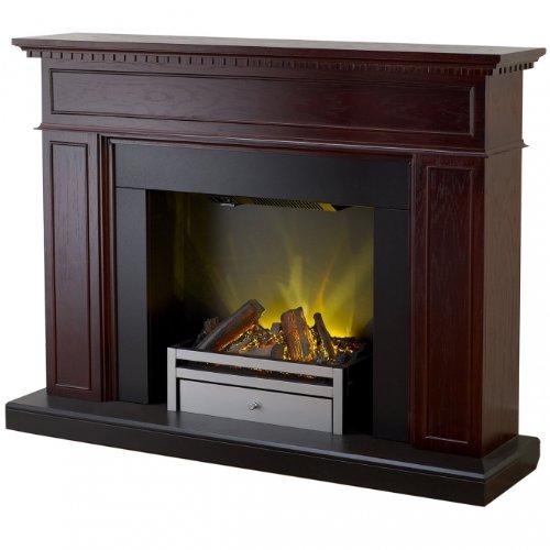 Adam Arlington Electric Fireplace Mantel Package in Rich Oak photo B00FFXH8MA.jpg