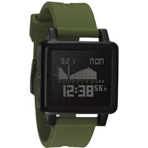 Nixon Housing Tide Watch - Matte Black / Surplus