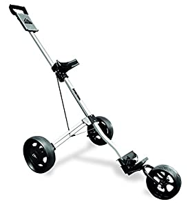 Long Ridge Alu Pro 3 Wheel Trolley Golf Trolley - Silver