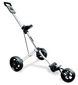 Longridge Alu Pro 3 Wheel Trolley Golf Trolley - Silver
