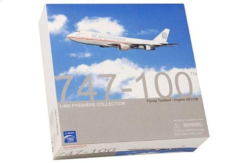 1:400 ドラゴンモデルズ 55915 ボーイング 747-100 ダイキャスト モデル GE 飛行機 Engines N747GE GE90 Flight Test【並行輸入品】