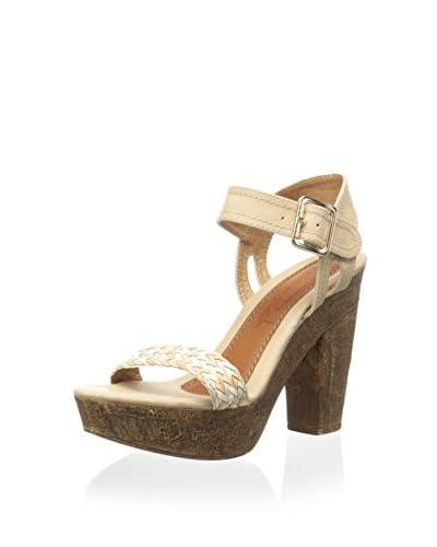 Modern Rush Women's Shannon Sandal  [Beige]