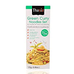 Thasia NoodleSet, Green Curry, 125gm