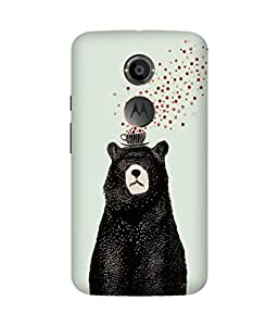 Bear Tea Party Motorola Moto X Case