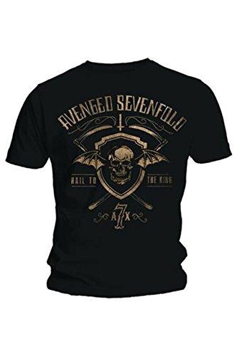 Avenged Sevenfold -  T-shirt - Uomo nero XL