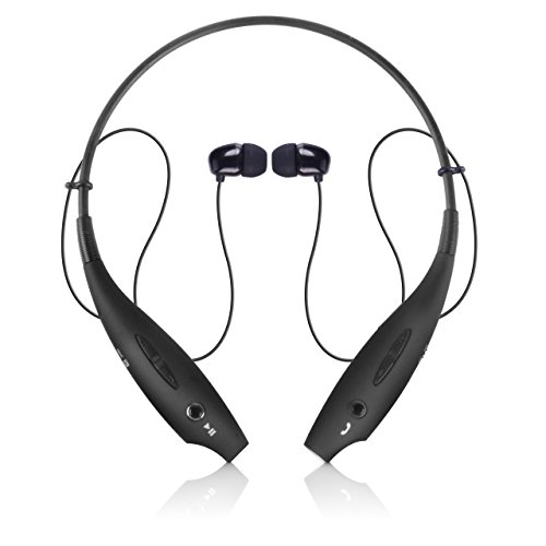 2501de1577c (click photo to check price). 1. Bluetooth Headphones, Wireless Neckband Bluetooth  Earbuds ...
