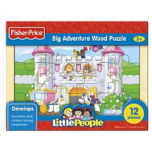 Fisher-Price 12-pc. Wood Inlay Puzzle