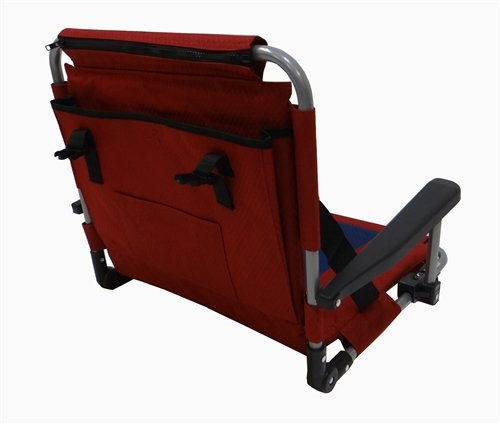Stadium Seat With Padded Seat And Back And Armrests From