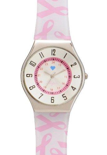Cheap Scattered Pink Ribbon Jelly Watch – Nurse Mates 918700 Pink (B005J6HUEY)