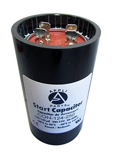 Start Capacitor 124-149 MFD uF 250V Round Can CD60. UL Certified (Can Capacitor compare prices)
