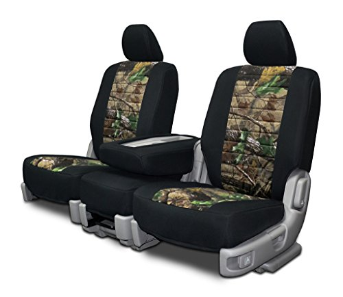 Custom Fit Seat Covers For Ford F-150 60-40 Neoprene & Realtree Hardwoods Green Camo (Custom Fit Seat Covers Camo compare prices)