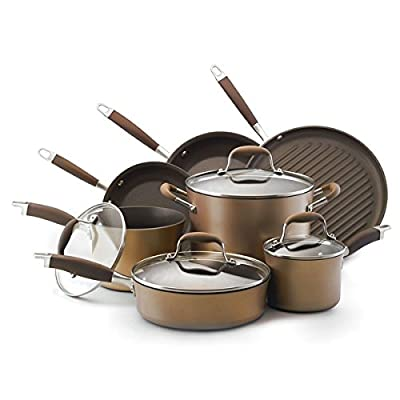 Anolon Advanced Bronze Collection Nonstick 11-piece Cookware Set