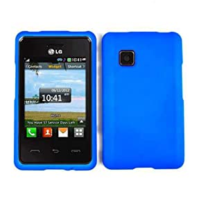 COVER FOR LG 840G FLUORESCENT PEARL BLUE: Cell Phones & Accessories