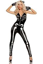 Elegant Moments Women's Sexy Skeleton