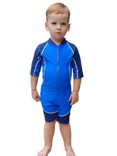 Boys Low Tide UV Sun Protective Short-Sleeved Sunsuit (UPF 50+)