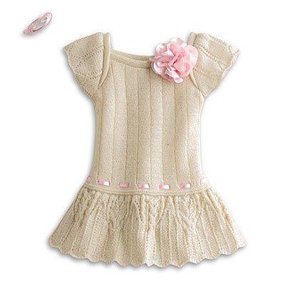 American Girl My AG Sweet Spring Dress + Charm
