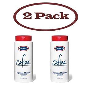 Urnex Cafiza Espresso & Coffee Machine Cleaner Powder 20 Oz. Bottle 2 Pack