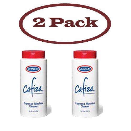 Urnex 12-ESP12-20 Cafiza Espresso & Coffee Machine Cleaner Powder 20 Oz. Bottle 2 Pack
