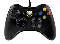 XBXI USB Wired Controller for PC & Xbox 360 Black