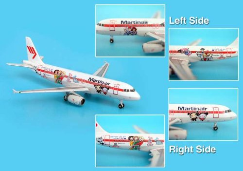 Phoenix Martinair A320 1/400 Jetix Cartoon Livery front-573030