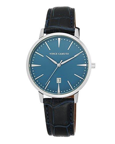vince-camuto-vc-1073lbsv-montre-mixte-quartz-analogique-bracelet-cuir-marine