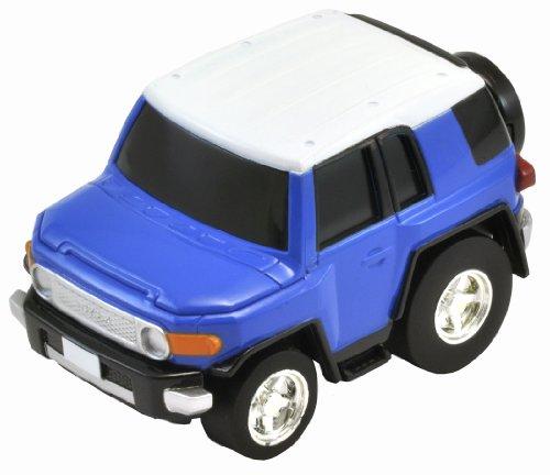 CHORO-Q zéro Z-10 b Toyota FJ Cruiser (racines sur le toit bleu / blanc)