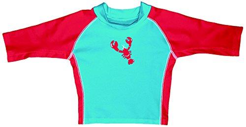 iplay-maglia-rash-guard-con-maniche-a-3-4-fattore-di-protezione-solare-50-l-12-18-mesi-blu-aqua-red-