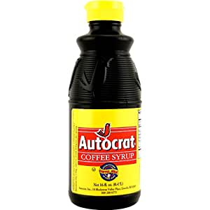 Autocrat Coffee Milk Syrup - 16 oz