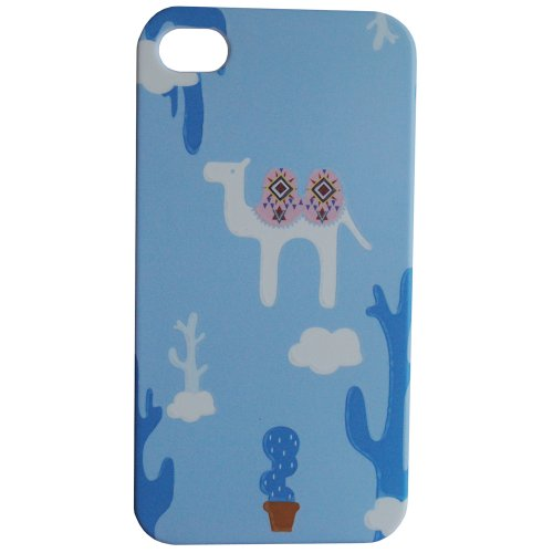 Images for Meaci® Iphone 5 5s (Not for 5c) Pc Case Unique Cute Animal Camel Cactus Smooth Wear-resisting&anti-fingerprint Touch Sense Pattern with 1x Free Anti-dust Plug Stopper-random Color (Ix)