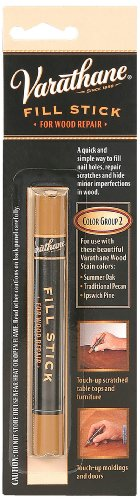 Rust-Oleum 215363 Varathane Fill Stick For Summer Oak, Traditional Pecan, Ipswich Pine