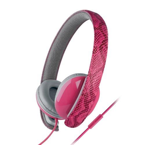 Urban Beatz Python Headphones With Mic - Pink (Ub-Hm100-652)