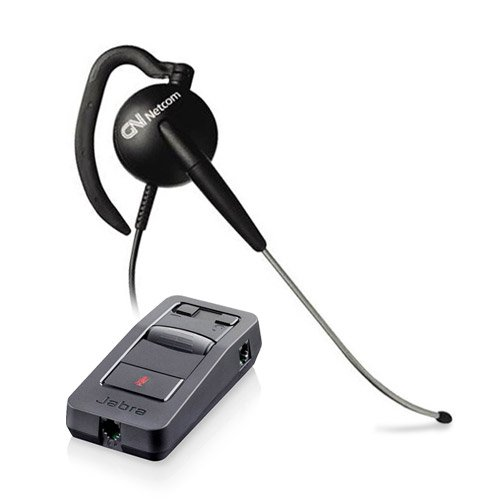 Jabra GN2117 SureFit ST Corded Headset with Link 850 Advanced Audio Processor