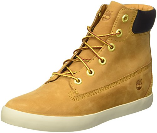 Timberland Flannery 6In, Scarpe a Collo Alto Donna, Giallo (Wheat), 39 EU