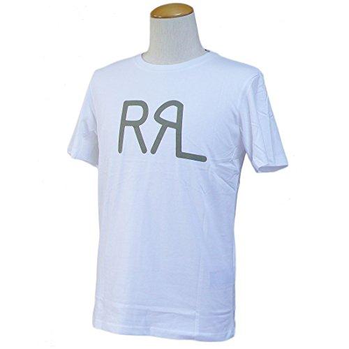 RRL DOUBLE RL ダブルアールエル RRL Tシャツ 半袖 クルーネック Uネック メンズ ホワイト 並行輸入品 VITA1373-M