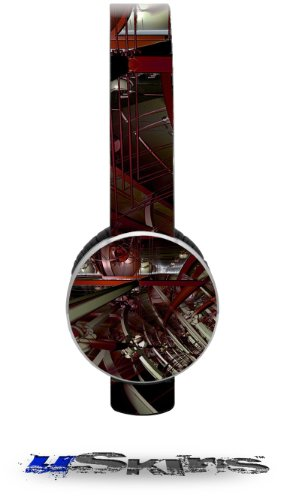 Domain Wall Decal Style Skin (Fits Sol Republic Tracks Headphones - Headphones Not Included)