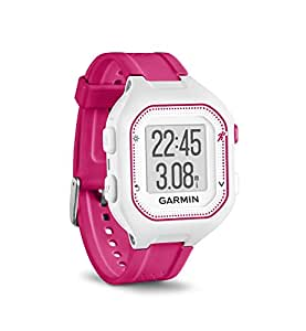 Garmin Forerunner 25, Small White and Pink