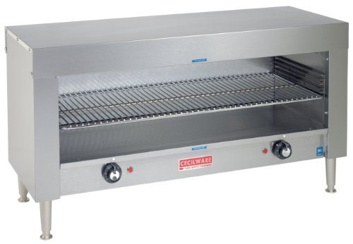 Grindmaster-Cecilware CM36M-240V Electric Stainless Steel Cheese Melter/Finisher in Metal