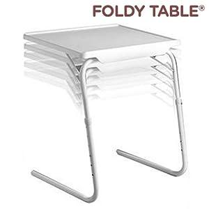 Tavolo tavolino multiuso regolabile pieghevole salvaspazio per divano letto foldy table amazon - Letto pieghevole amazon ...