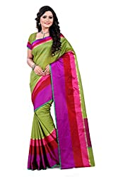 Amigos Fashion Women's Tassar Silk Saree (AF-15)