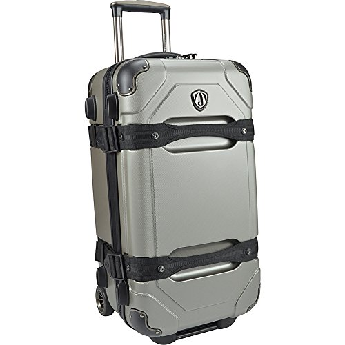 travelers-choice-maxporter-24-rolling-trunk-luggage-merlot-silver-grey