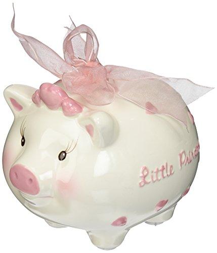 Mud Pie Mud Pie Little Princess Ceramic Piggy Bank