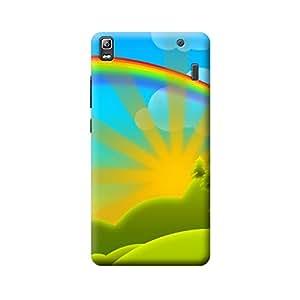 CaseLite Premium Printed Mobile Back Case Cover With Full protection For Lenovo A7000/K3 Note (Designer Case)